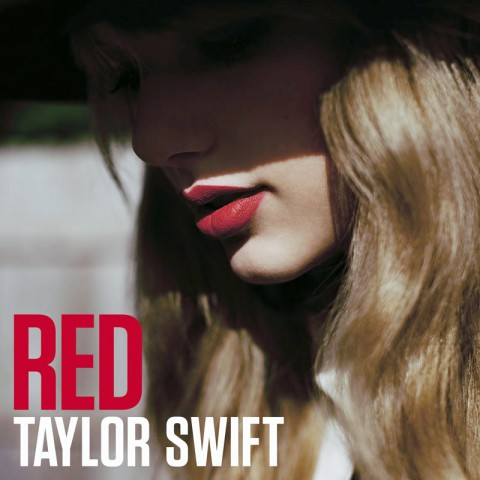 Taylor Swift Red copertina album artwork
