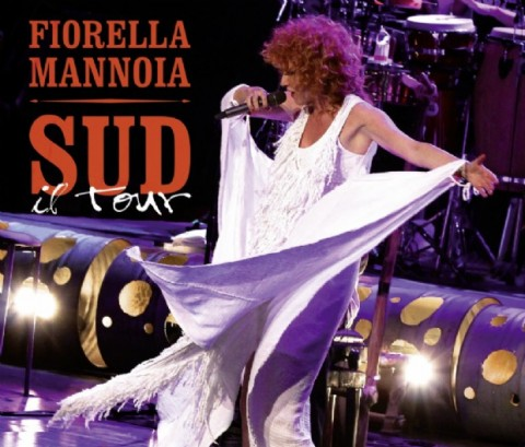 Fiorella Mannoia Sud Il Tour CD DVD cover