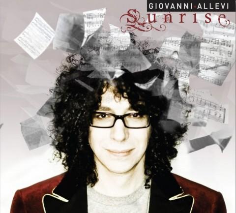 Giovanni Allevi Sunrise copertina disco artwork