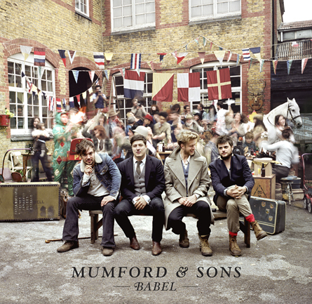 Mumford & Sons – Babel – copertina album artwork