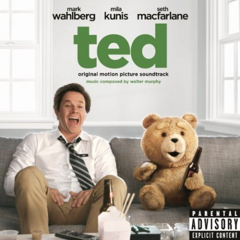 Ted - film 2012 - copertina disco colonna sonora artwork