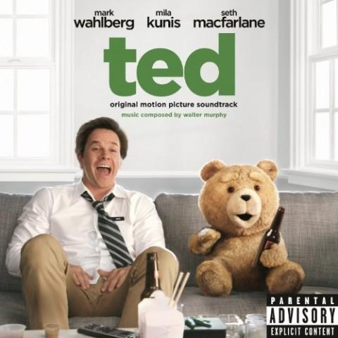 Ted - film 2012 - copertina disco colonna sonora artwork