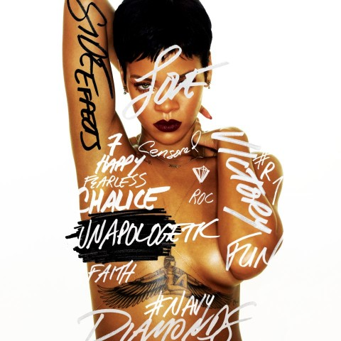 Rihanna - Unapologetic - copertina CD artwork