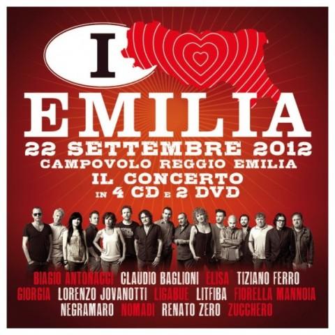 Italia Loves Emilia - Il Concerto copertina disco artwork