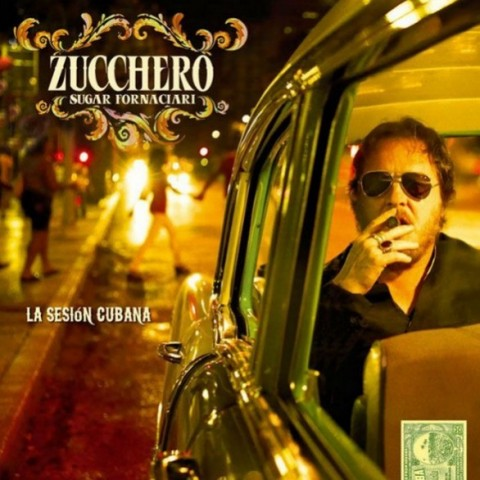 Zucchero La Sesion Cubana copertina disco artwork