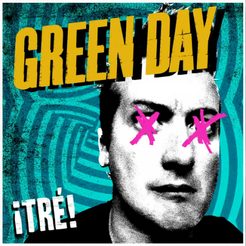 Green Day ¡TRÉ! copertina album artwork
