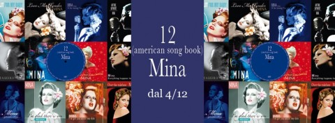 Mina - 12 (American Song Book) copertina album artwork