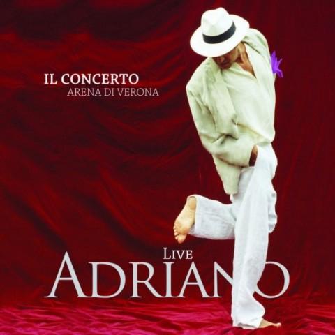 Adriano celentano live arena di verona 2012 album cover artwork