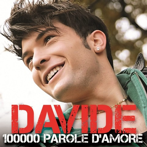Davide Merlini 100000 parole d'amore copertina artwork