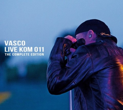 Vasco Rossi – Live Kom 011 The complete edition – CD DVD Cover