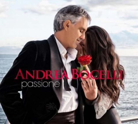 Andrea Bocelli Passione copertina disco artwork