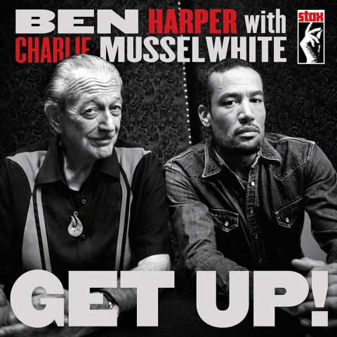Ben Harper & Charlie Musselwhite Get Up! copertina album artwork