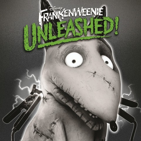 Frankenweenie Unleashed! cd cover artwork