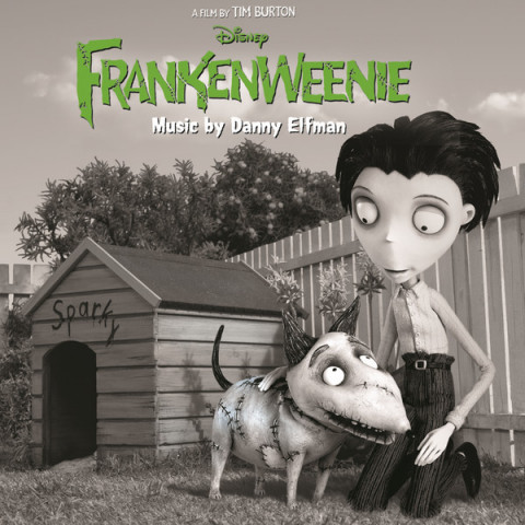 Frankenweenie soundtrack cover artwork