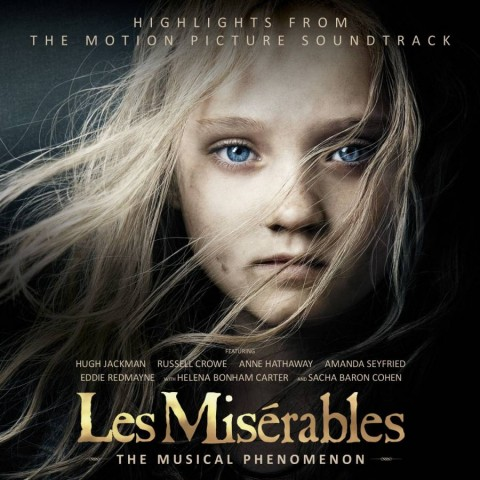 Les misérables soundtrack cd cover artwork