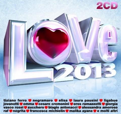 Love 2013 canzoni d'amore copertina cd artwork
