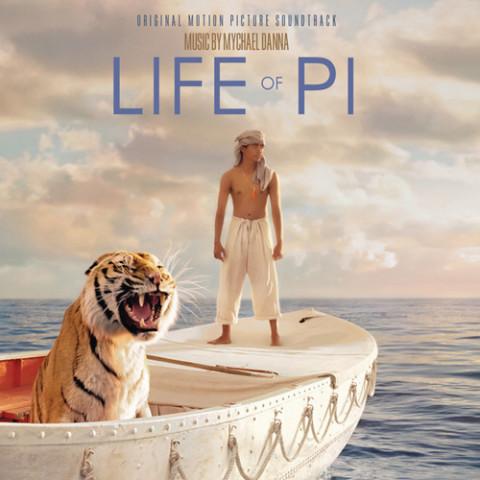 Vita di Pi film 2012 copertina colonna sonora