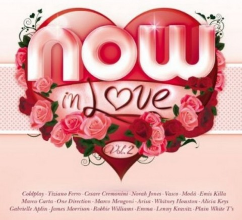 Now in love vol 2 2013 copertina cd artwork