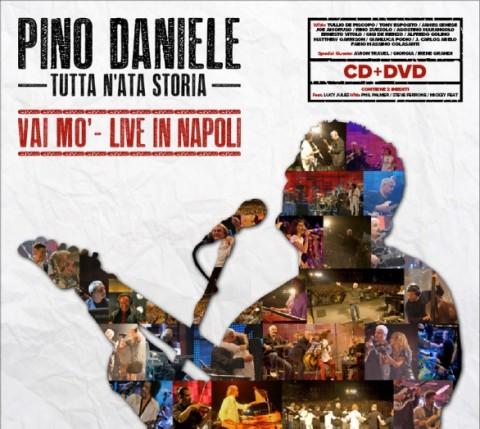 Pino Daniele – Tutta N'ata Storia – Vai Mò – Live in Napoli album cover