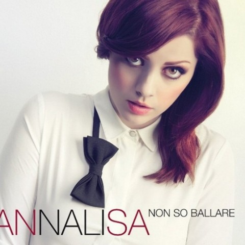 Annalisa Non so ballare copertina  disco artwork