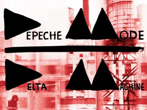 Depeche Mode – Delta Machine copertina disco artwork