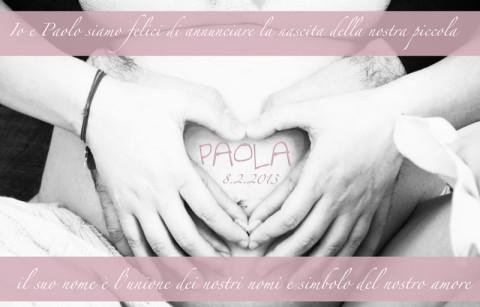Laura Pausini annuncio Paola