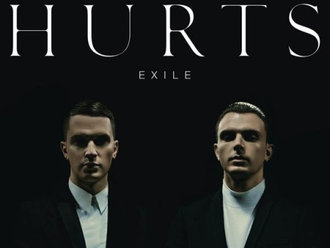 Hurts - Exile copertina disco artwork