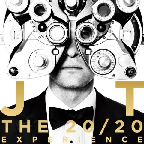 Justin Timberlake – The 20/20 Experience copertina disco artwork
