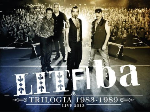 Litfiba - Trilogia 1983 - 1989 (Live 2013) artwork album cover