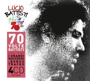 Lucio Battisti 70mo copertina dischi artwork