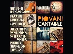Nicola Piovani Cantabile copertina disco