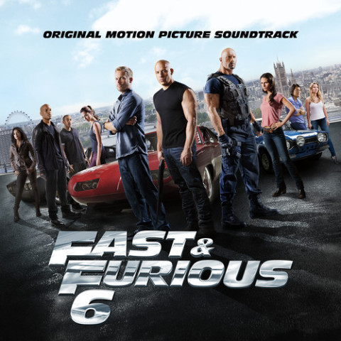 Fast & Furious 6 colonna sonora copertina