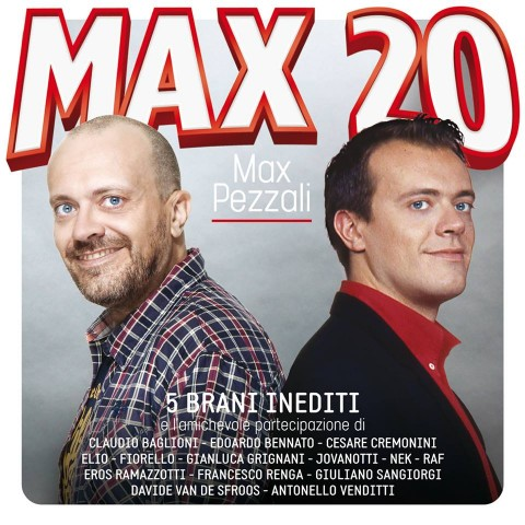 Max Pezzali Max 20 cd cover