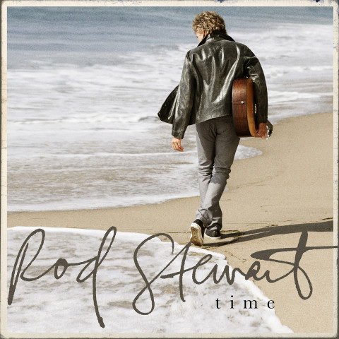 Rod Stewart - Time copertina album