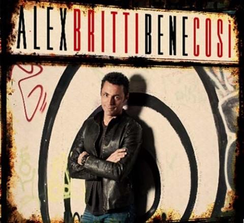 Alex Britti Bene Così copertina cd