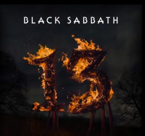 Black Sabbath 13 copertina disco
