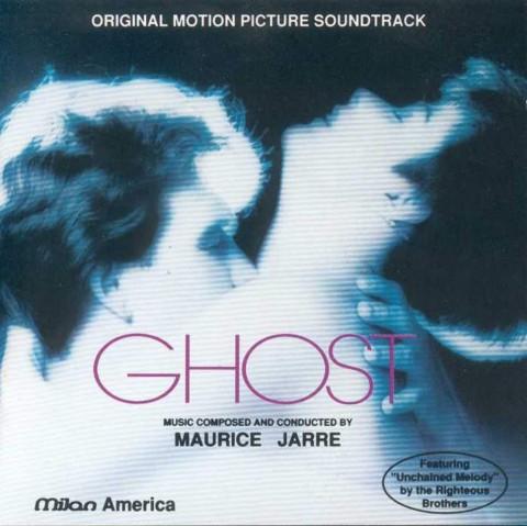 Ghost colonna sonora film copertina disco