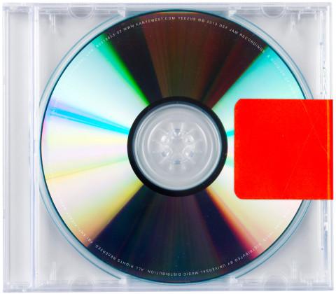 Yeezus - Kanye West copertina disco