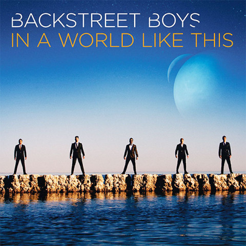 backstreet boys in a world like this cd copertina artwork