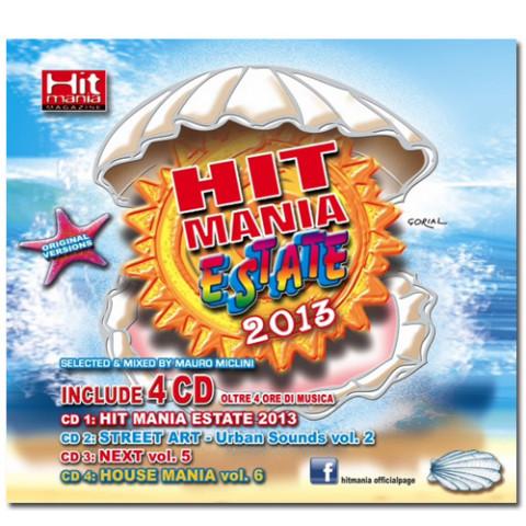 Hit Mania Estate 2013 copertina dischi