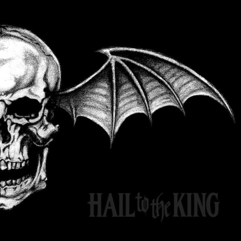 Hail to the King - Avenged Sevenfold copertina cd