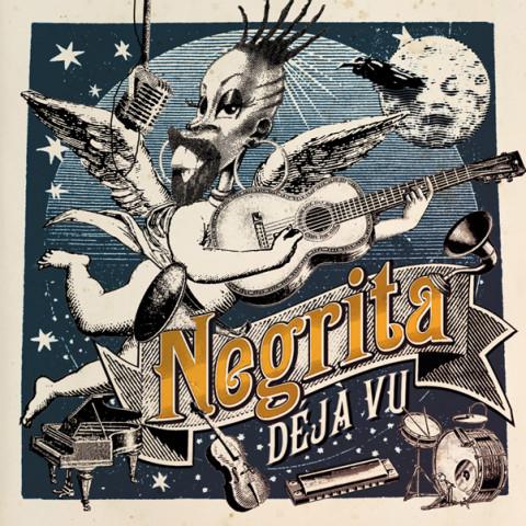 Déjà Vu negrita copertina disco