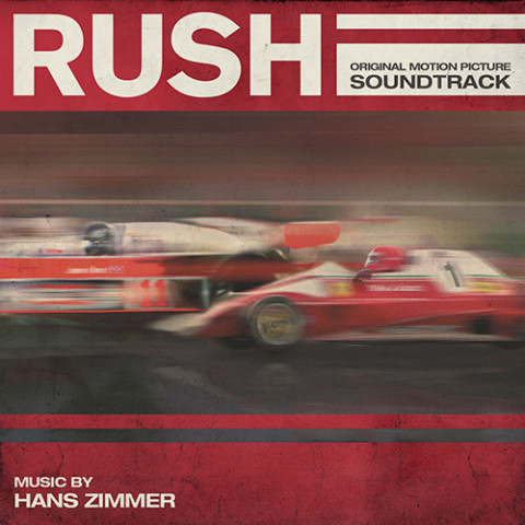 colonna sonora film Rush copertina cd
