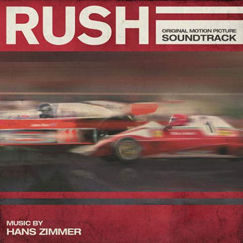 colonna sonora film Rush copertina cd