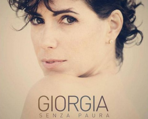 giorgia senza paura cover album artwork