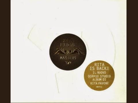 Rita pavone Masters copertina album