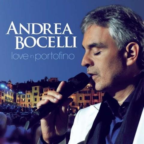 andrea bocelli love in portofino copertina cd