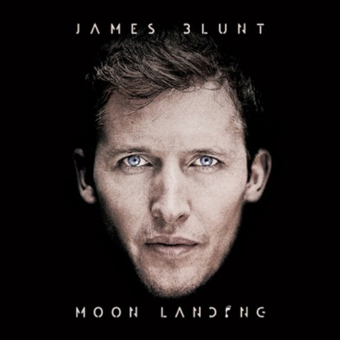 Moon Landing James Blunt copertina cd artwork