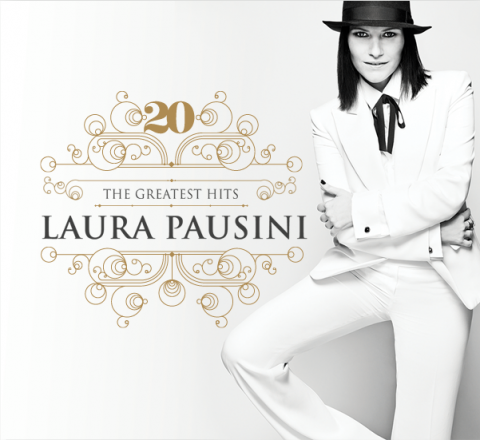 laura pausini 20 greatest hits copertina cd artwork