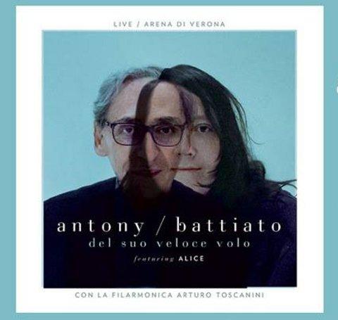 Franco Battiato e Antony copertina disco